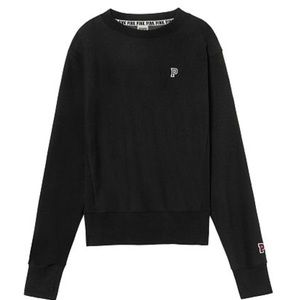 VS pink brand boyfriend sweater in black Size M